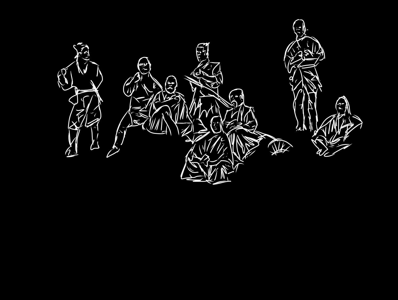 KUROSAWA x ERIC KIM / Seven Samurai