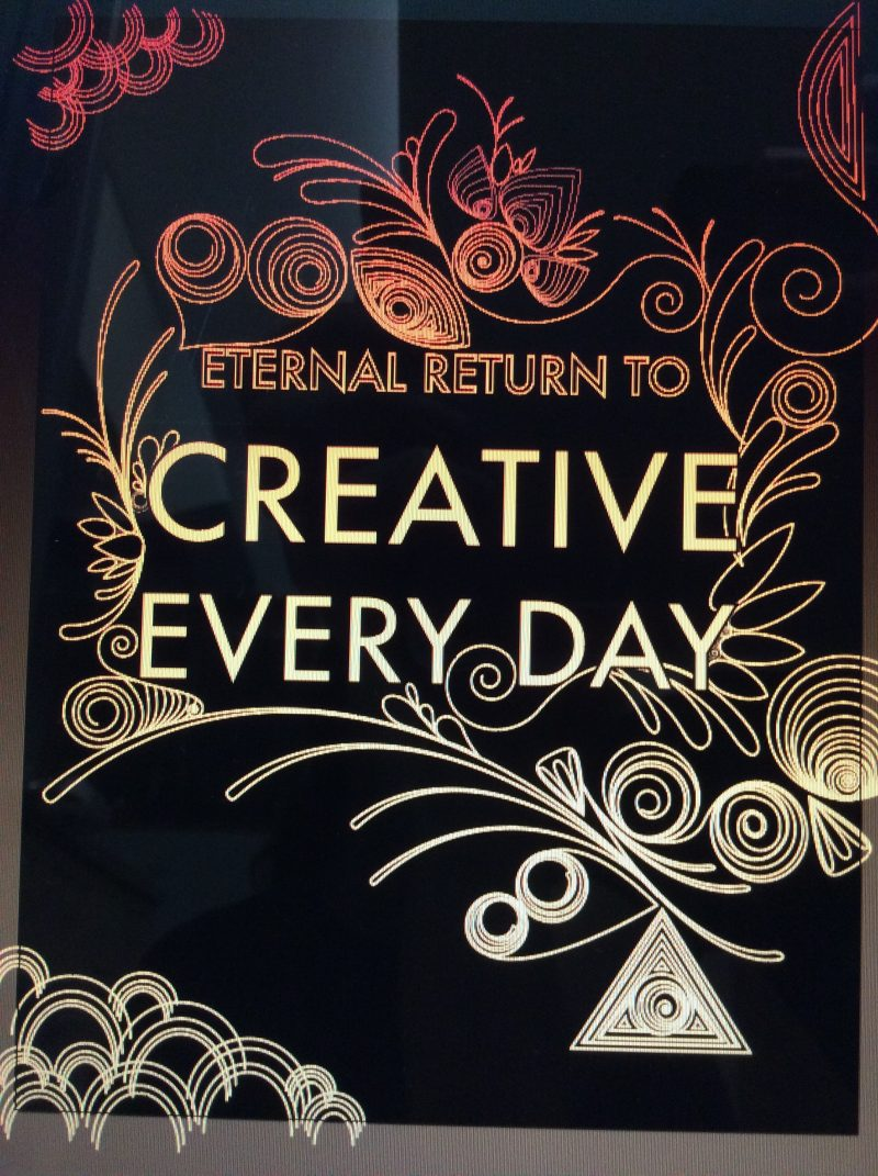 ETERNAL RETURN TO THE CREATIVE EVERYDAY PROTOTYPE by HAPTIC