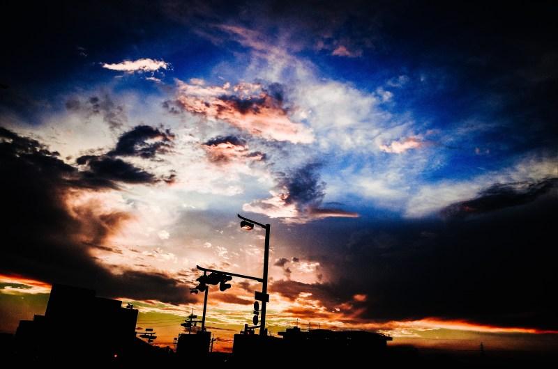Uji sunset, 2017.