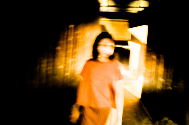 Blurry picture of Cindy. Kyoto, 2017.