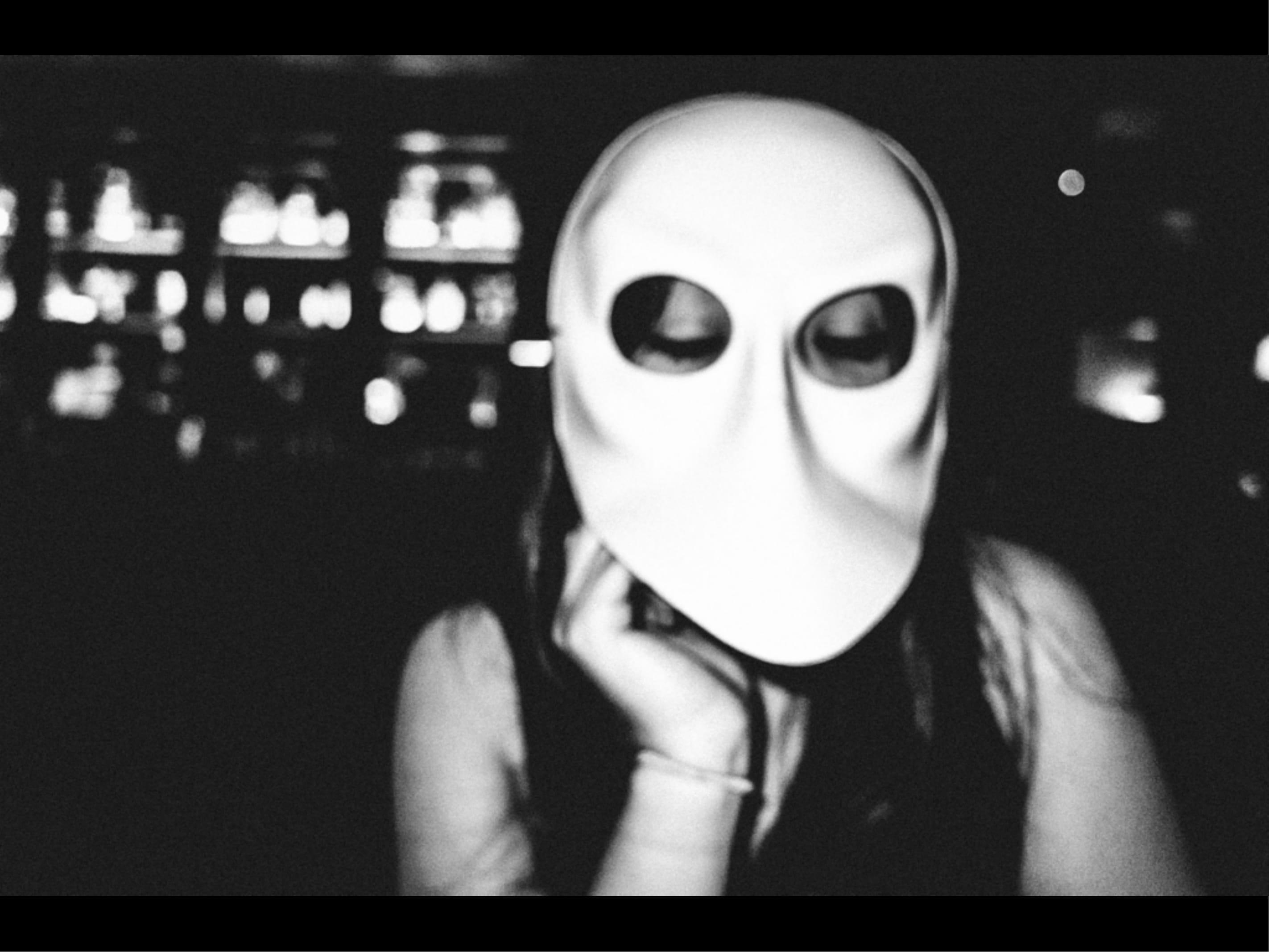 Cindy mask. Nyc, 2015