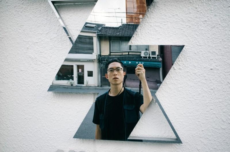 Selfie in kyoto. Eric Kim.