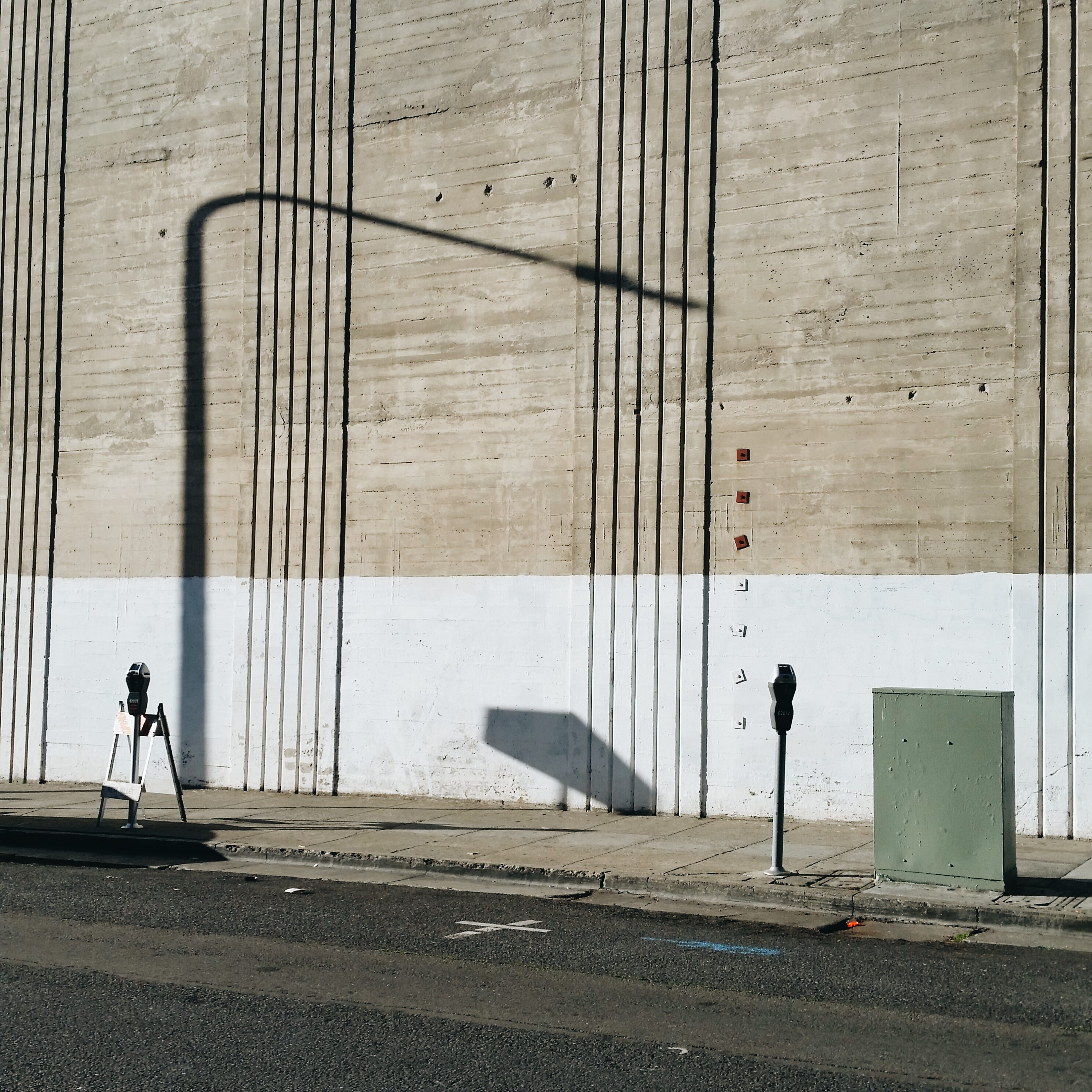 Urban landscape. Berkeley, 2015. Telephone pole.