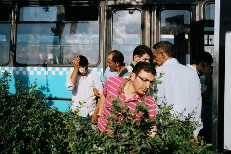 Moving men. Istanbul, 2014. Street Photo by Eric Kim