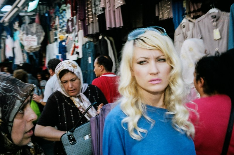 Flash street photograph in Istanbul, 2014 // Eric Kim