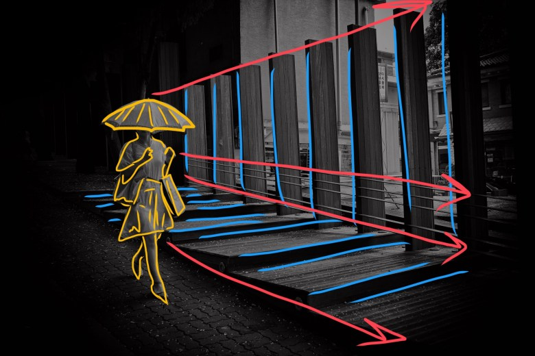 Leading lines. ERIC KIM DYNAMIC COMPOSITION