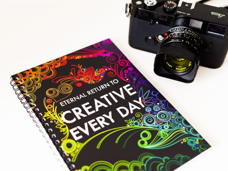 CREATIVE EVERY DAY: Print Edition by HAPTICPRESS