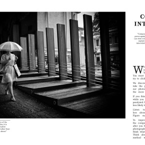 Composition spread from LEARN FROM THE MASTERS OF STREET PHOTOGRAPHY BOOK