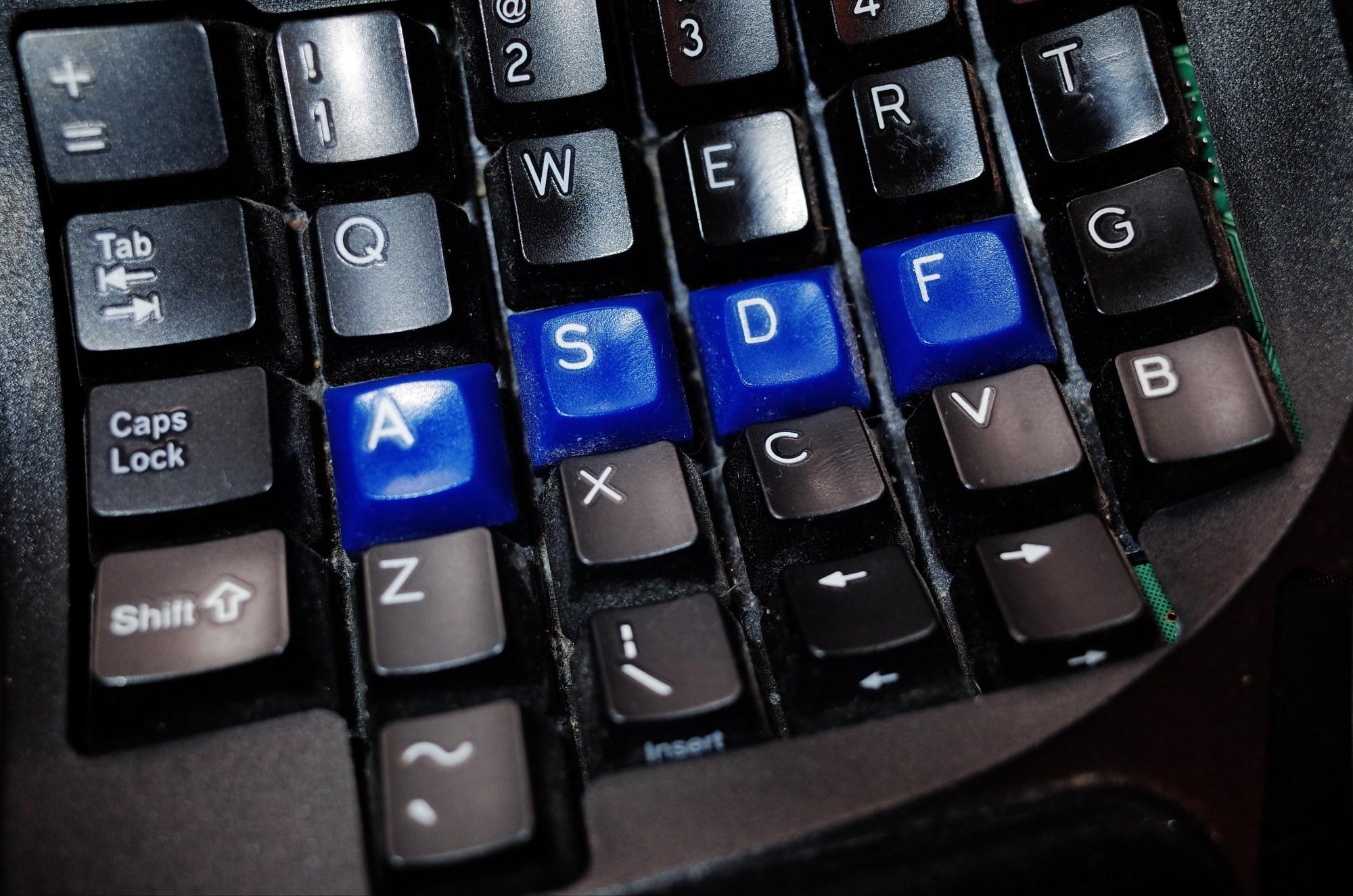 ASDF. Kinesis keyboard. Berlin, 2017 #cindyproject