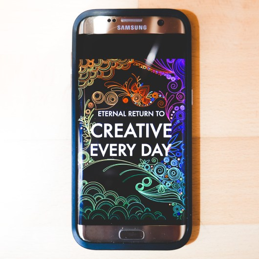 FREE CREATIVE EVERY DAY: Mobile Edition Promotion