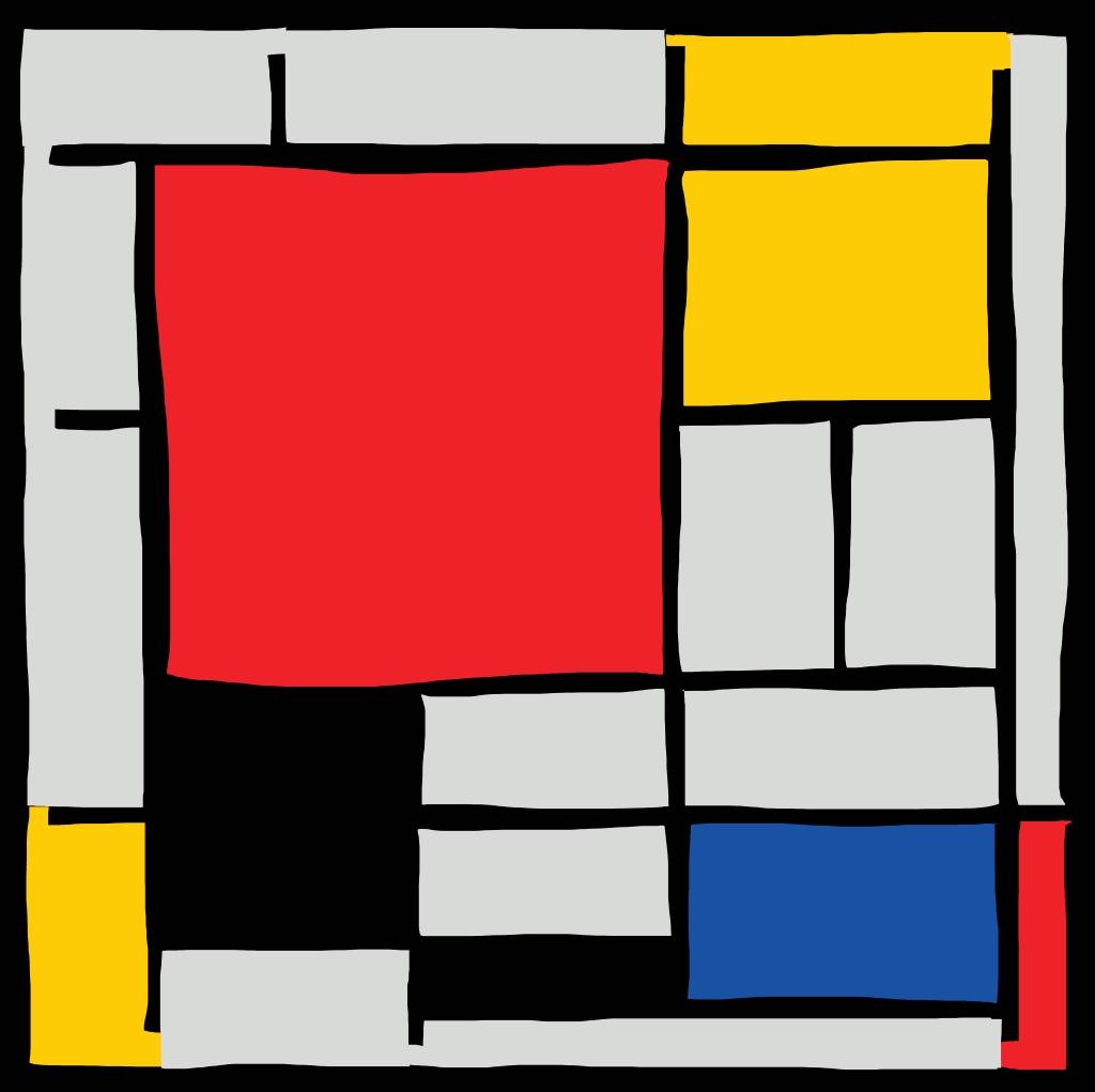Piet Mondrian x Eric Kim
