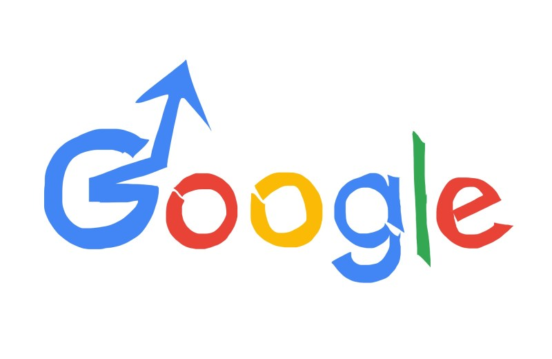 Google advance up arrow