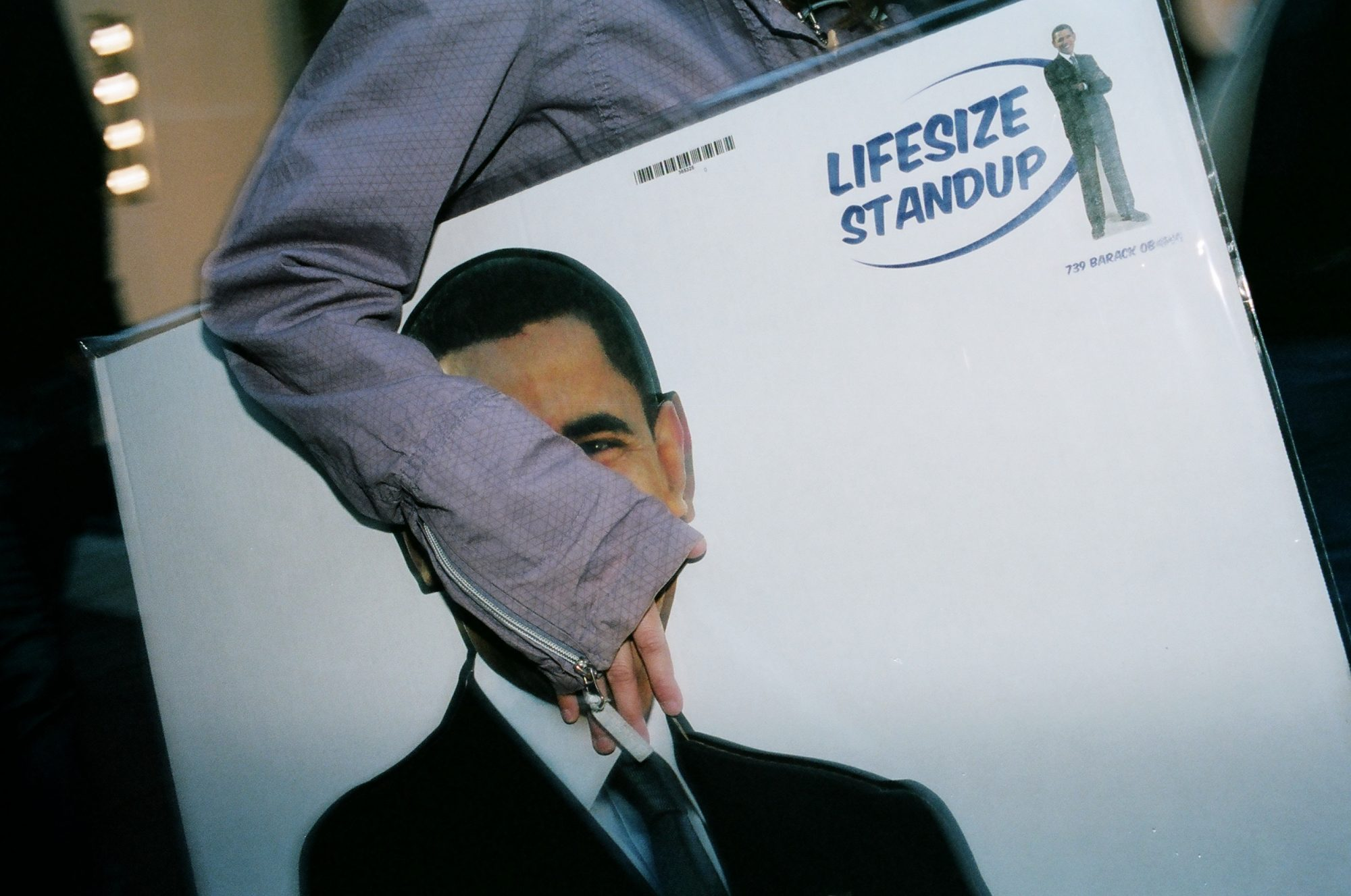 Obama cutout. 2013