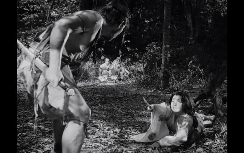 Kurosawa Rashomon triangle composition