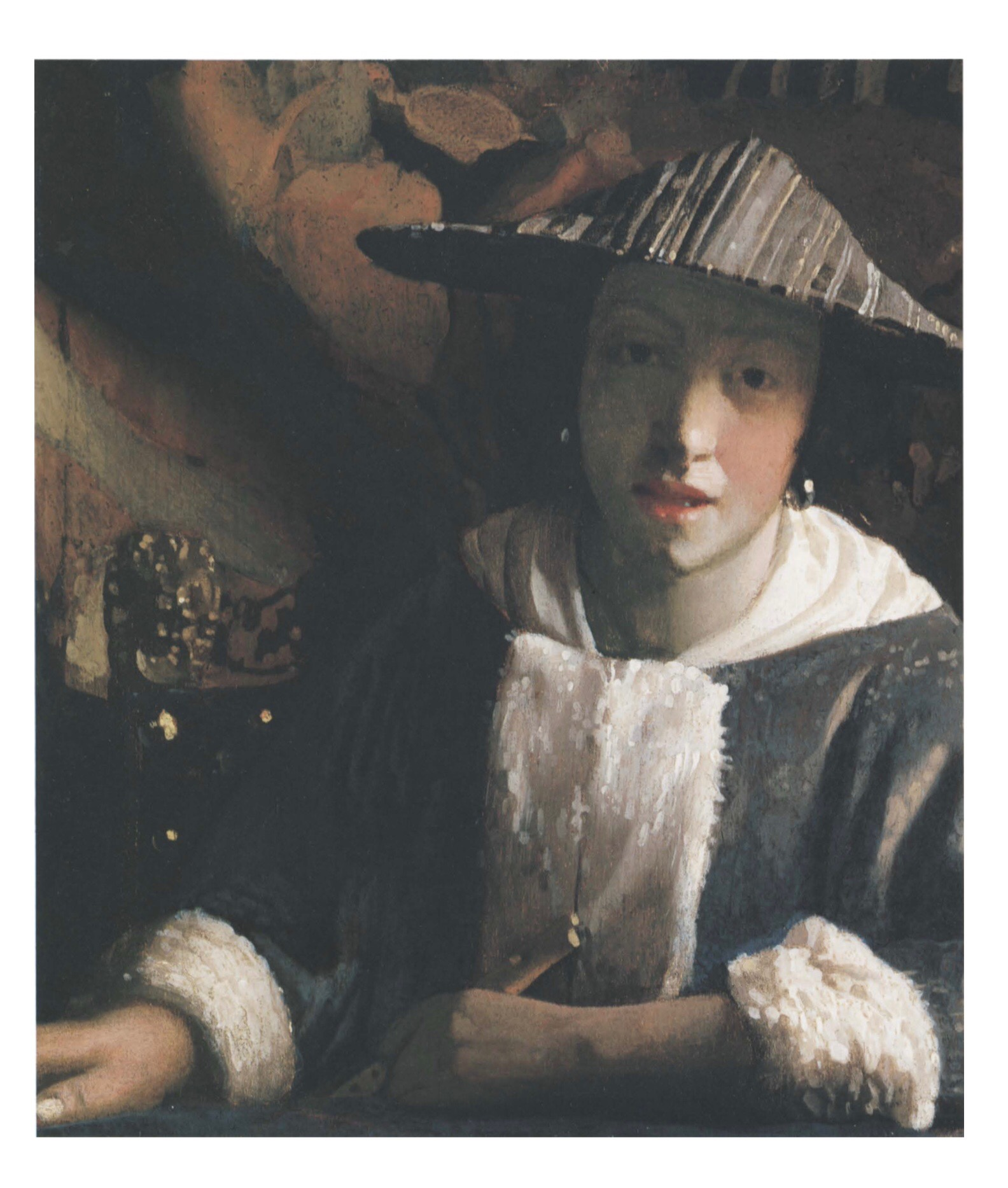 Vermeer girl with flute