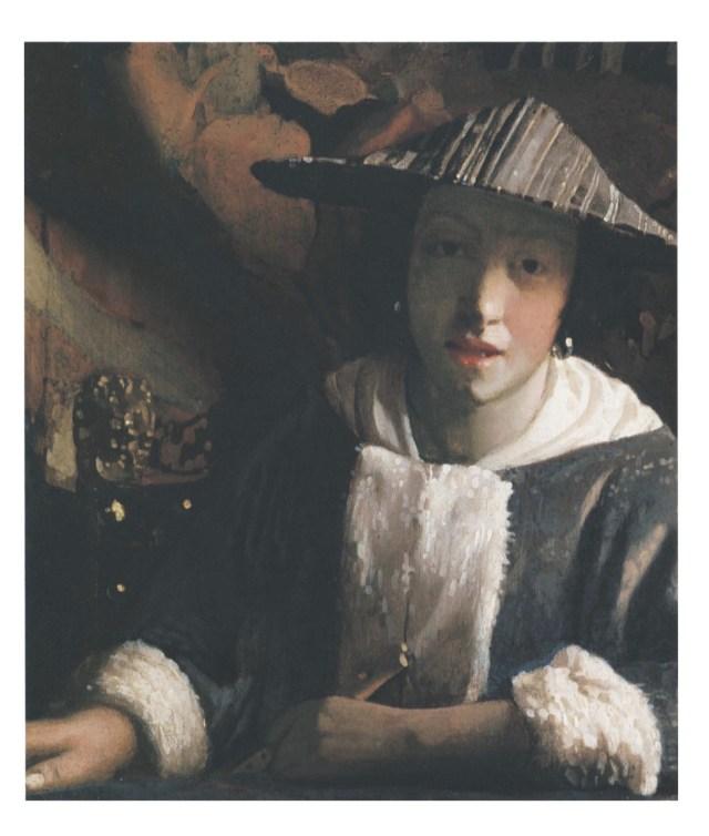 Vermeer girl with flute