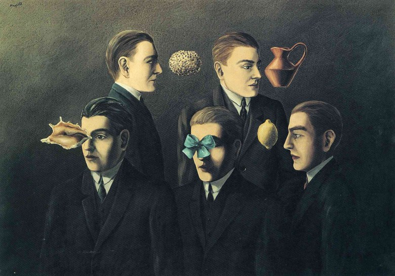 Rene Magritte Familiar Objects (1928)