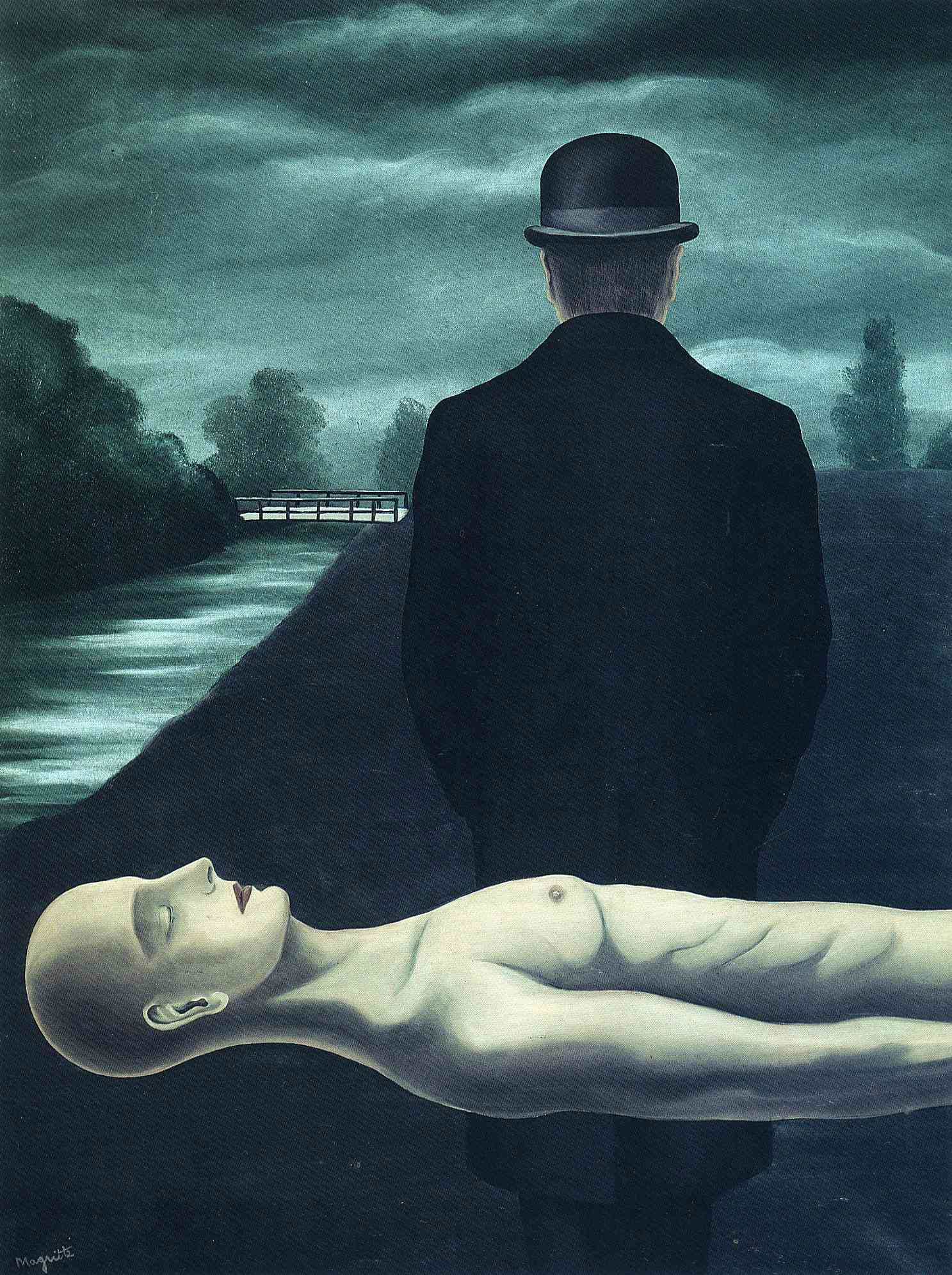 1926, The Musings of the Solitary Walker. Rene Magritte