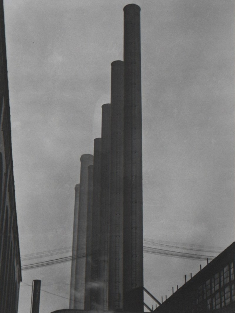 Urban landscape silo by Edward Weston