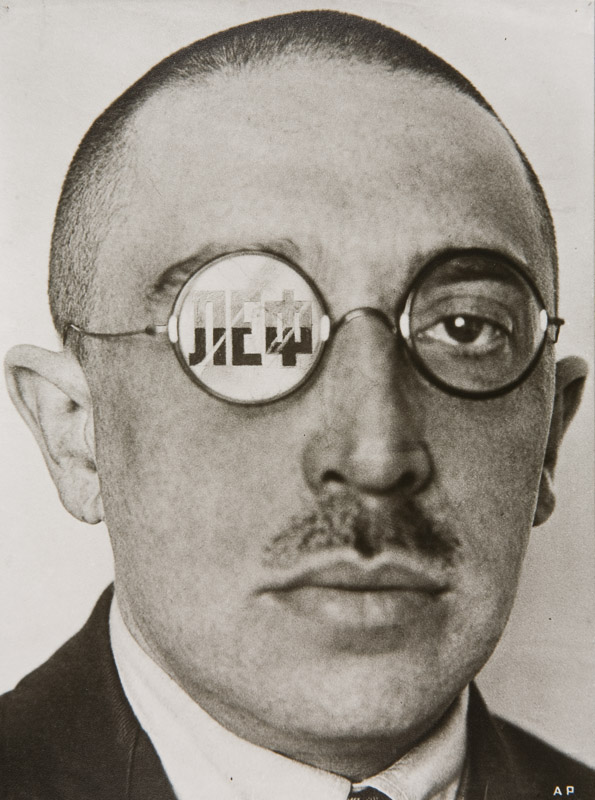 The Critic, Osip Brik, 1924. Alexander Rodchenko Photo