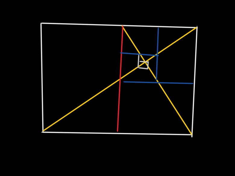 Golden rectangle.