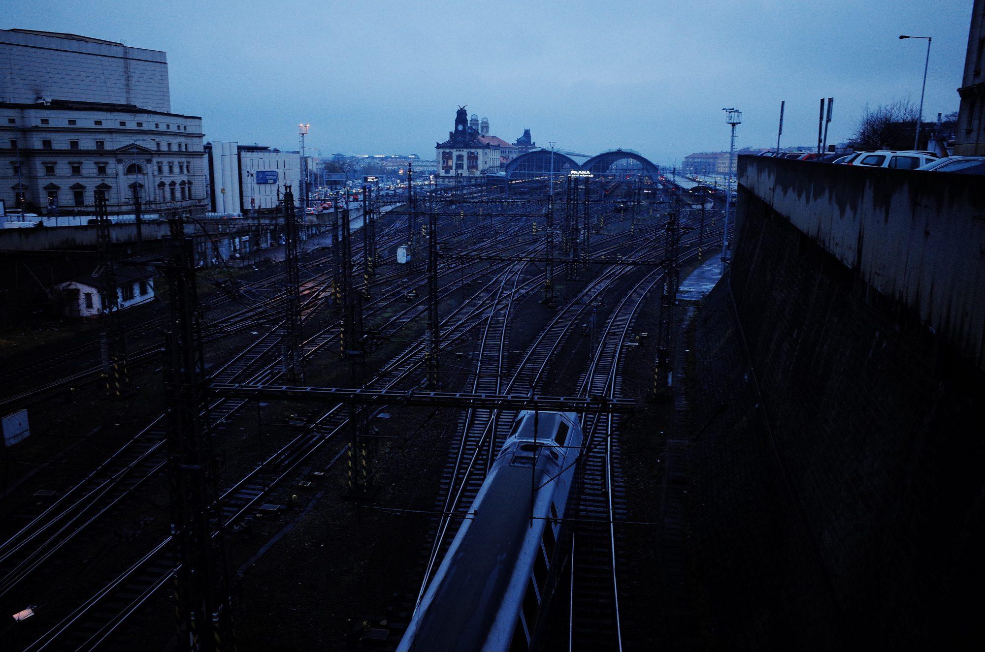 Train station. Prague, 2017