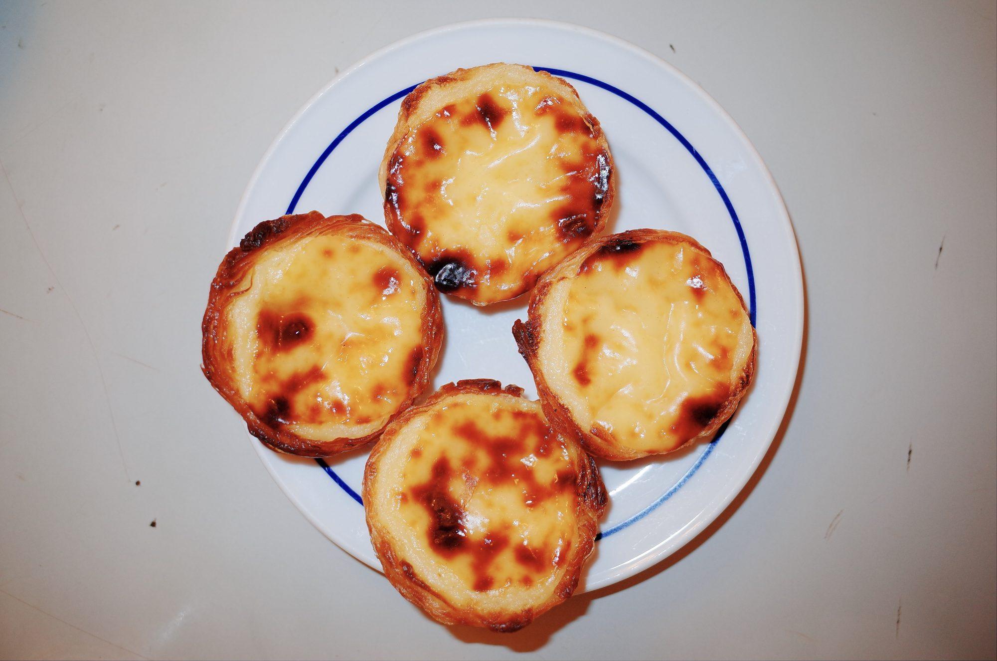 Egg tarts. Lisbon, 2018