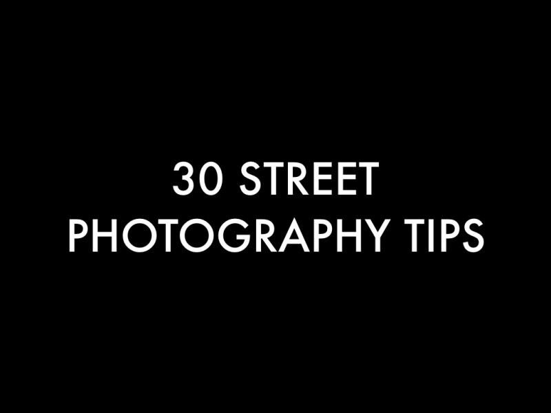 Pdf my best 30 street photography tips