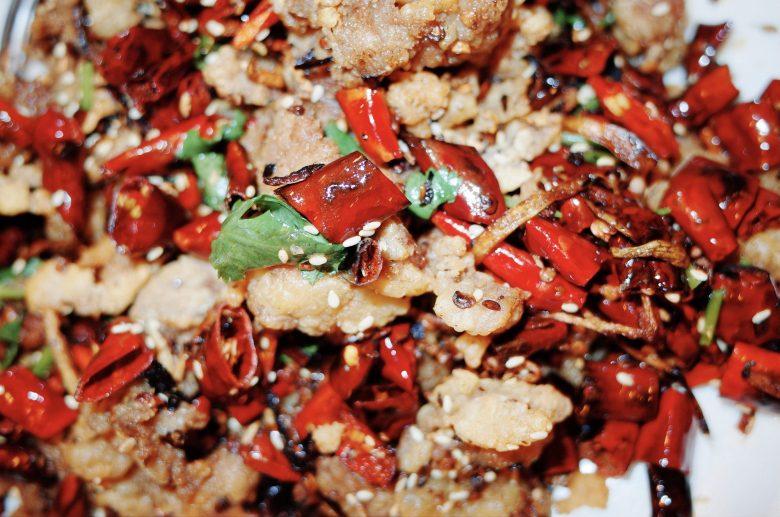 Szechuan spicy chilli/Cumin Lamb (delicious), Chinese Restaurant in Boston, 2018
