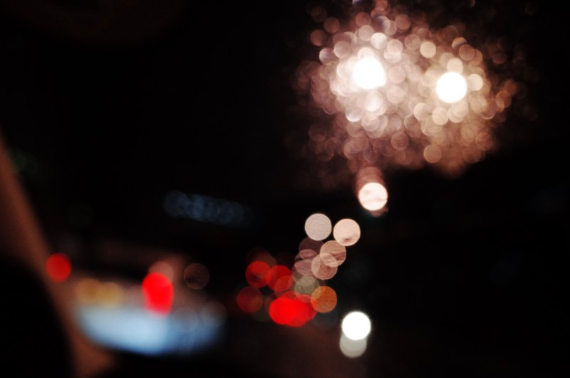 Abstract london bokeh, 2018