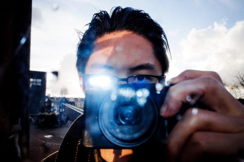 Eric Kim Selfie. Amsterdam, 2017