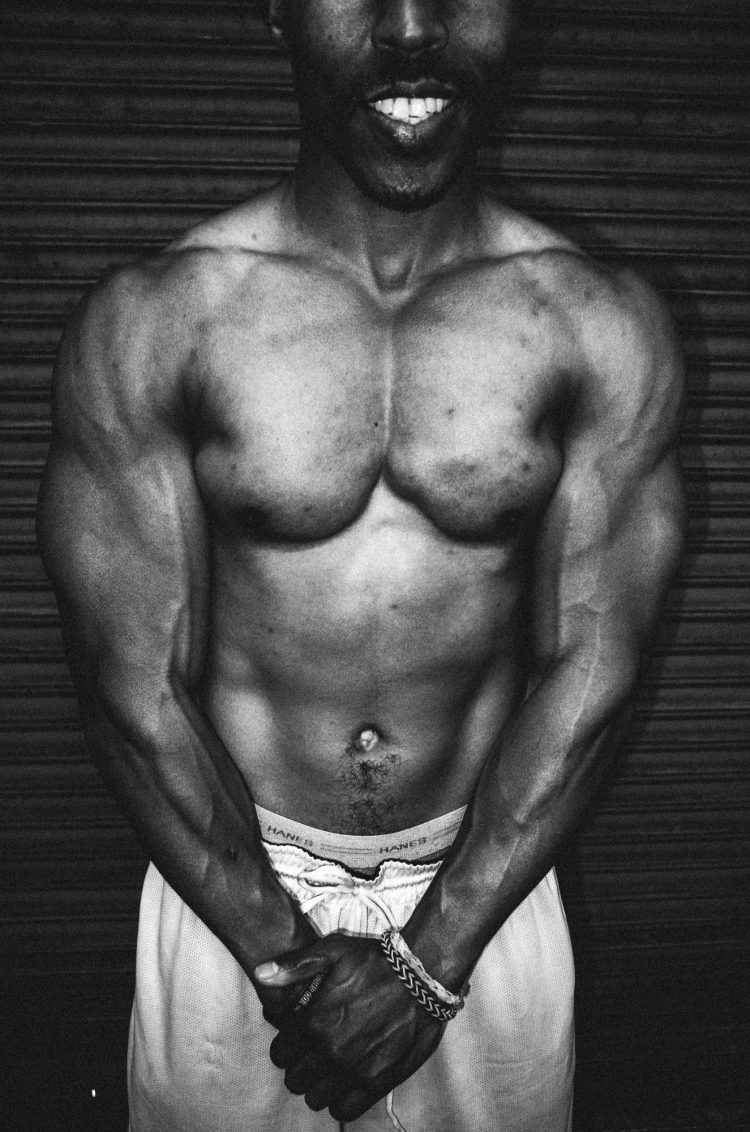 Flex muscles