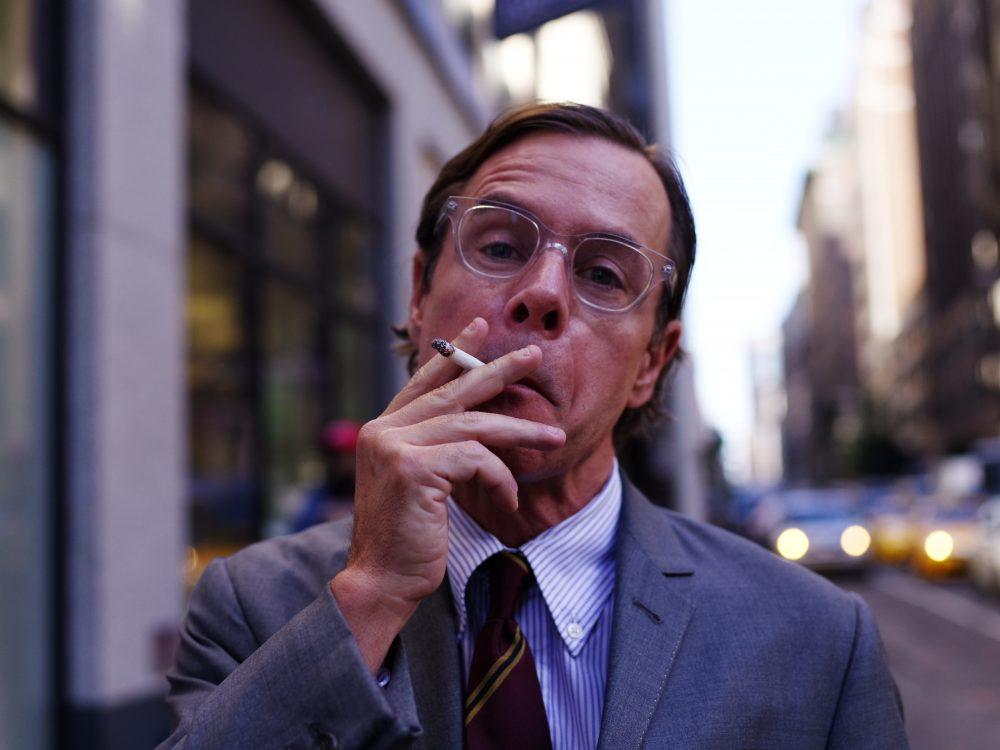 NYC mad men, suit, cigarette, Pentax 645z
