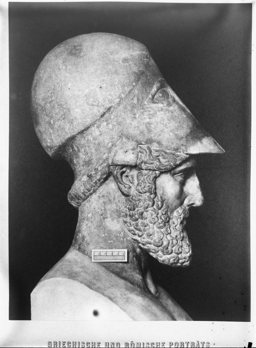 Bust of Themistocles, a giant in history