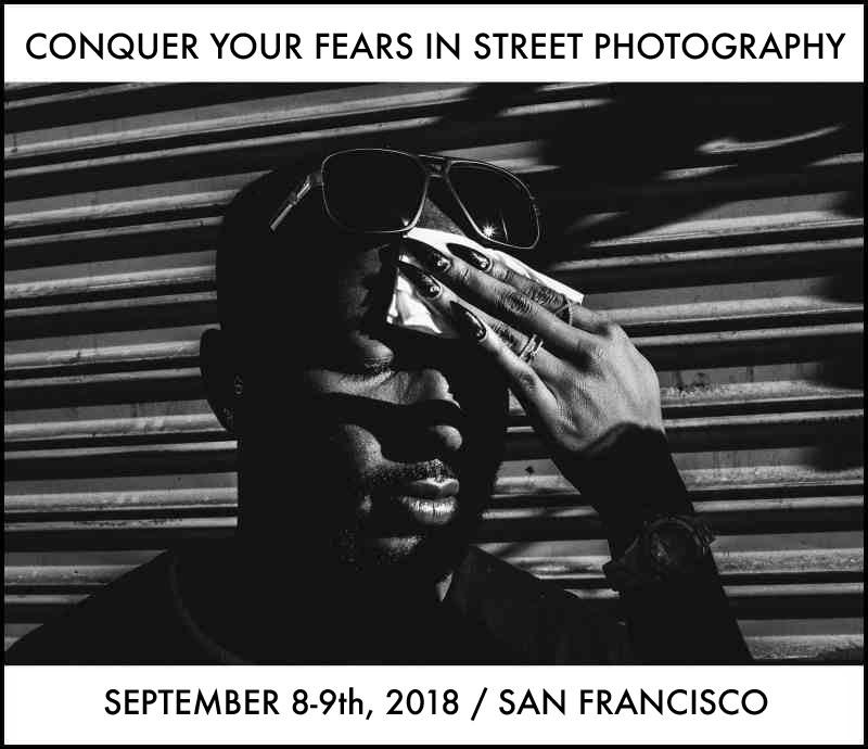SF Conquer Fears 2018 Eric Kim