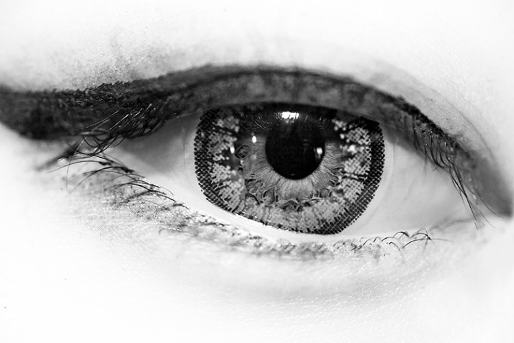 Close-up of my sister Annette Kim's eye. Shot on Canon 5D and 105mm Macro Sigma Lens.