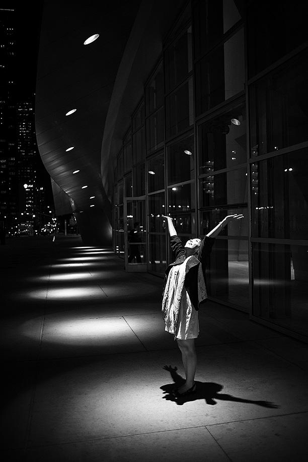 2009. Cindy // The spotlight.