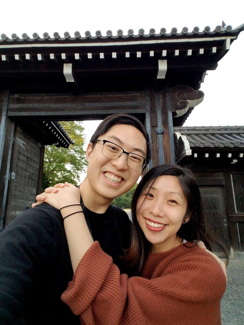 20180428_175256 eric kim and cindy nguyen samsung selfie kyoto emperor garden