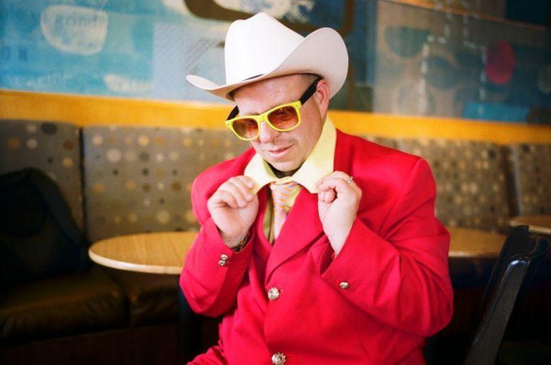 Red cowboy. Santa Monica, 2014