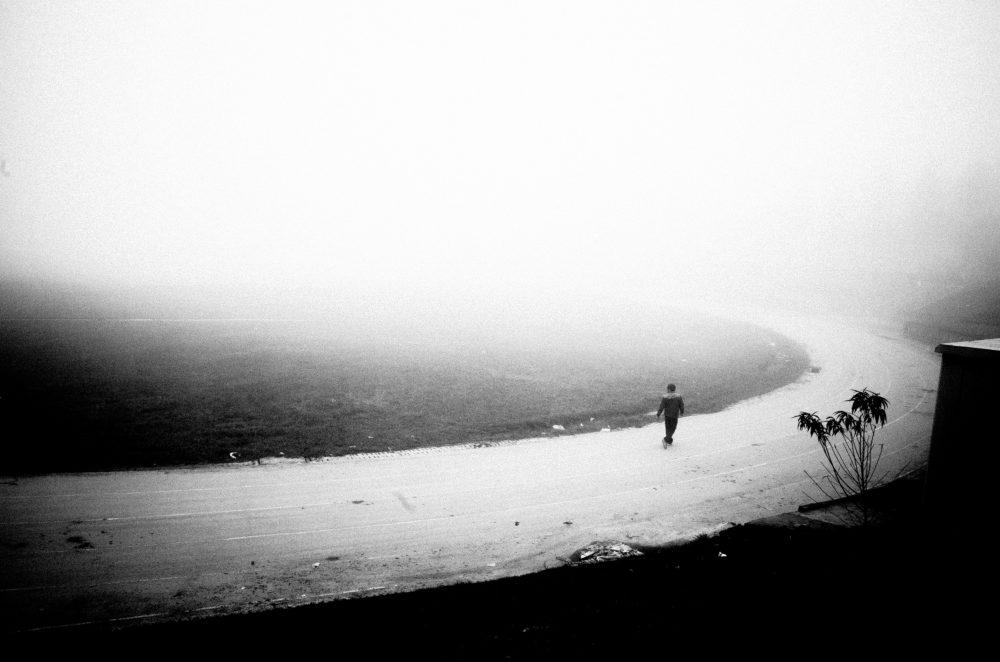 Walking fog eric kim sapa Street photo
