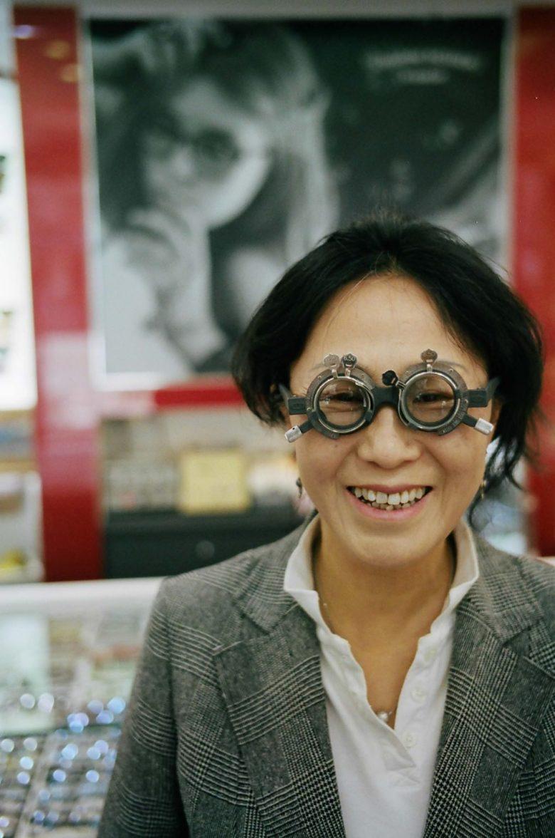 My mom. Busan, 2013
