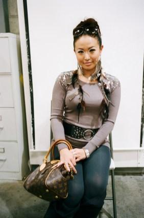 Portrait of woman at Costco