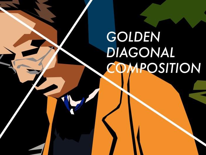 golden diagonal composition