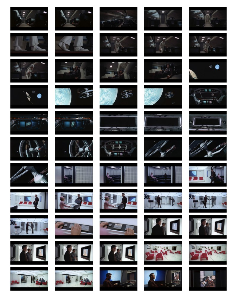 2001 Space Odyssey Cinematography - contact sheets-02