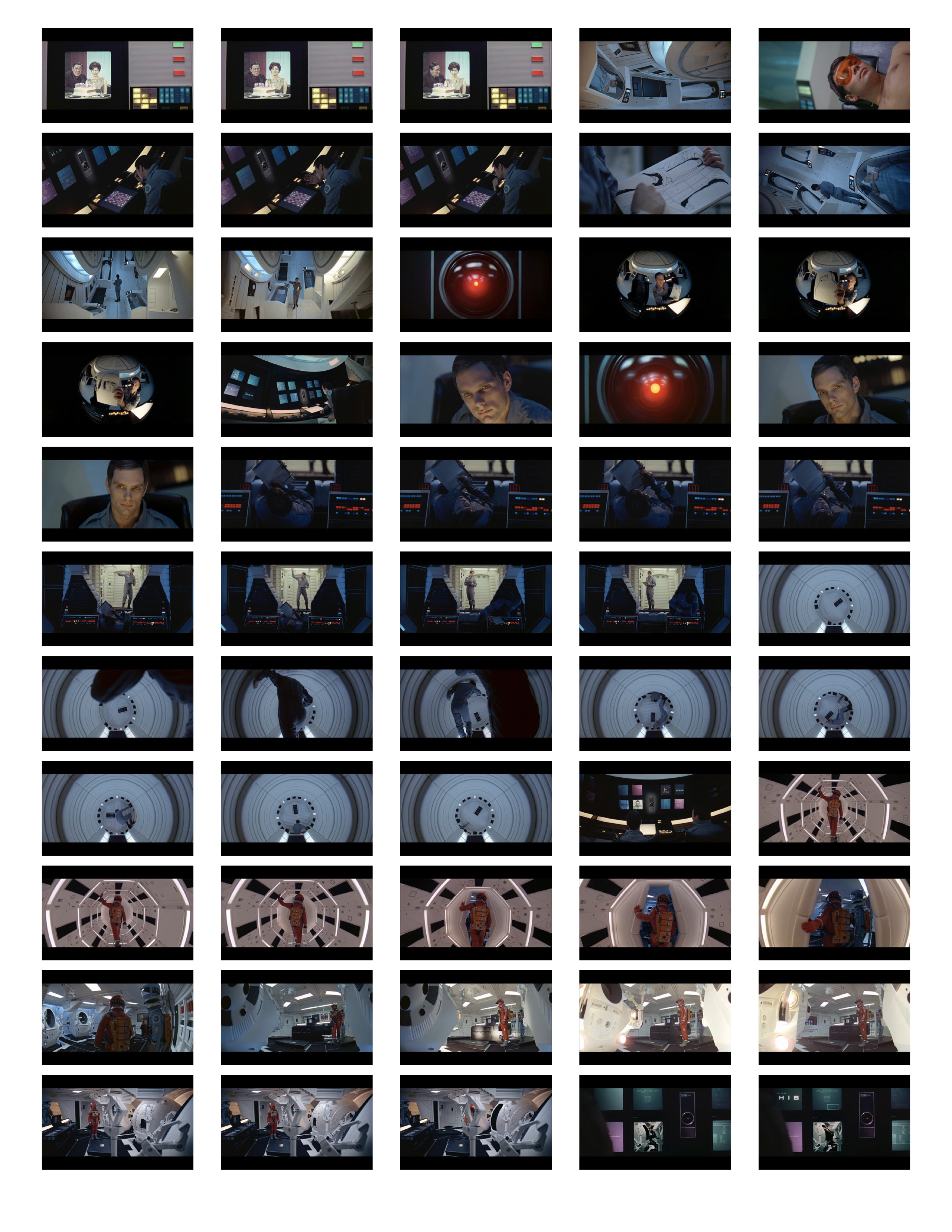 2001 Space Odyssey Cinematography - contact sheets-07