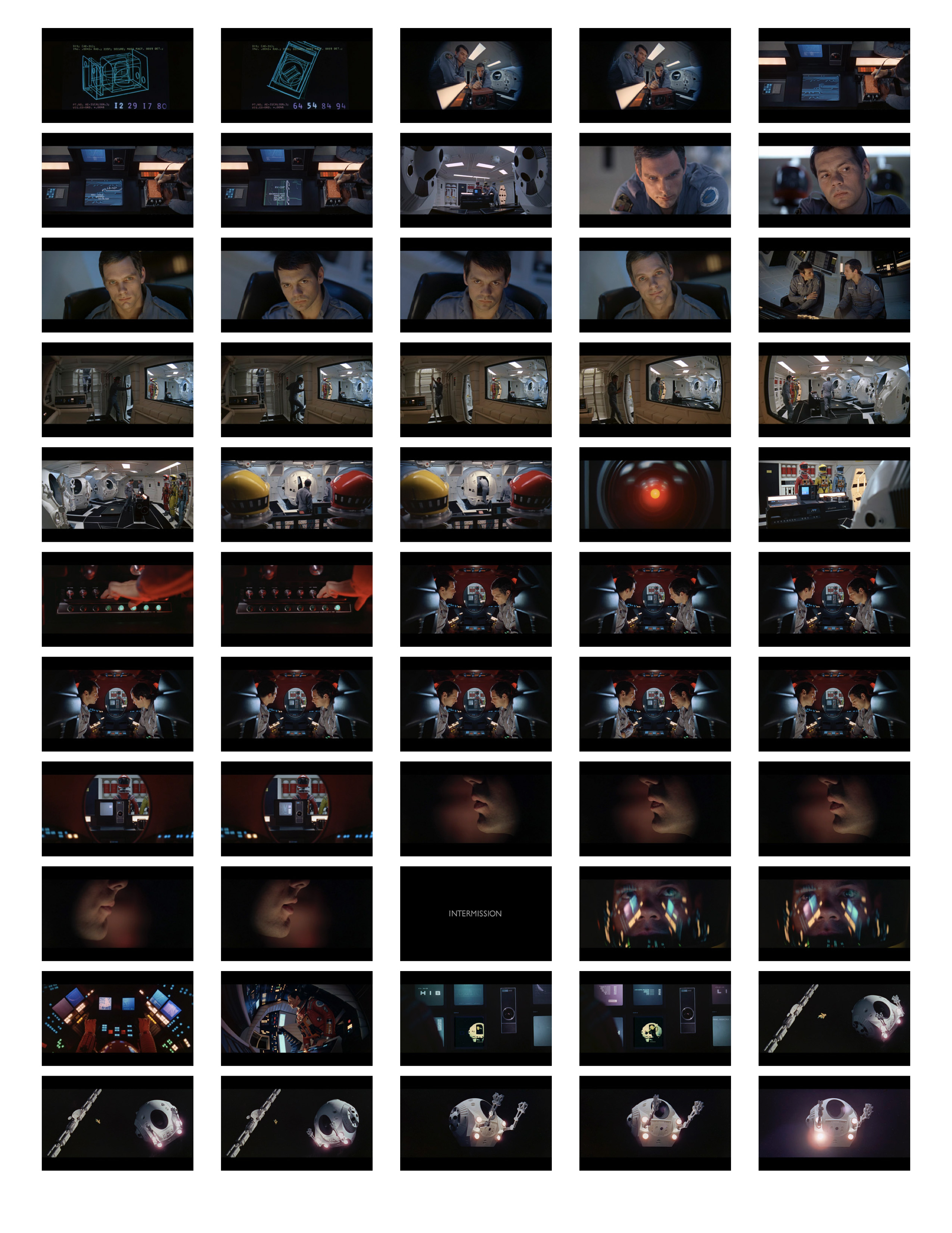2001 Space Odyssey Cinematography - contact sheets-09