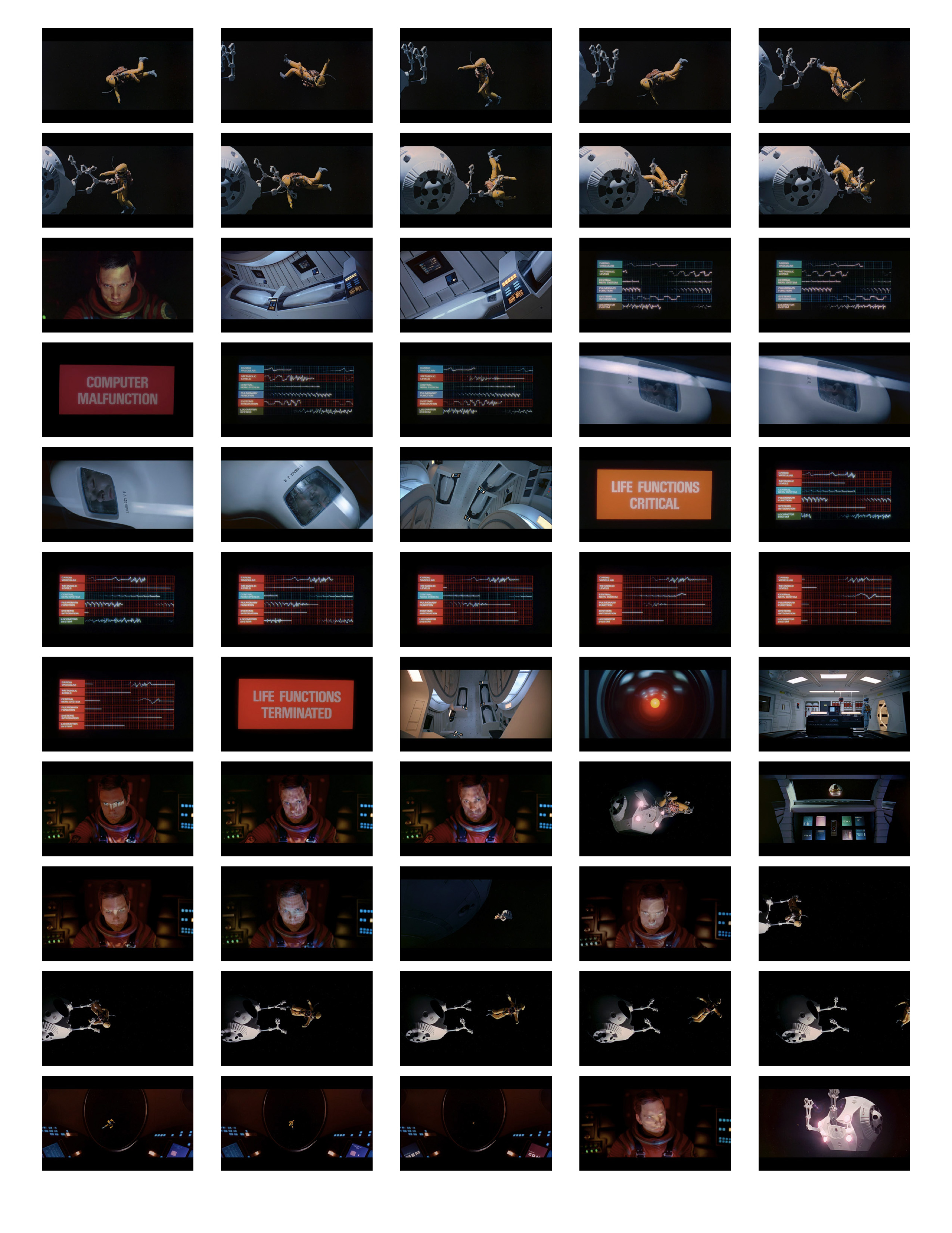 2001 Space Odyssey Cinematography - contact sheets-11