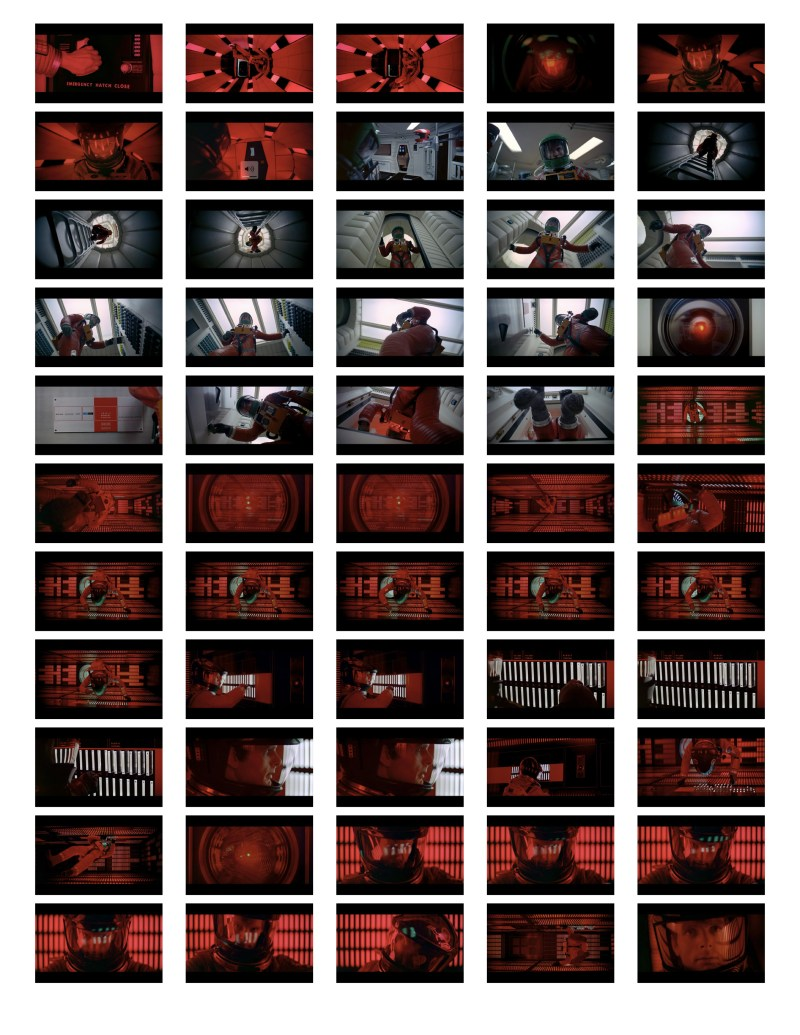 2001 Space Odyssey Cinematography - contact sheets-13