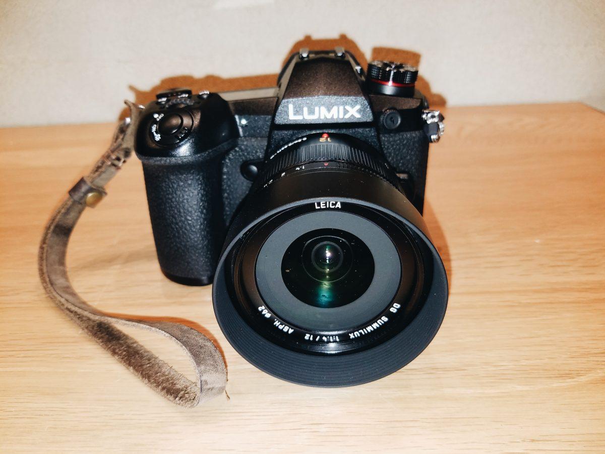 Lumix Panasonic g9 and 12mm f/1.4 Lens