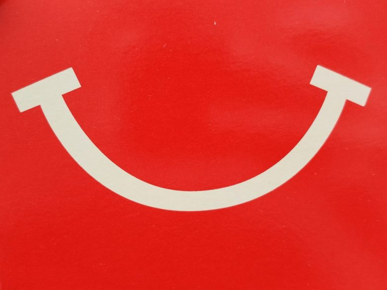 Happy face McDonald's